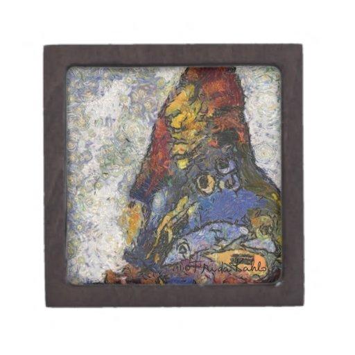 Mariposa Monet de Frida Kahlo inspirado Cajas De Joyas De Calidad