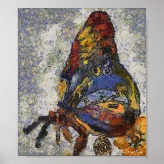 Mariposa Monet de Frida Kahlo inspirado Impresiones