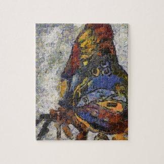 Mariposa Monet de Frida Kahlo inspirado Puzzle