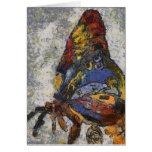 Mariposa Monet de Frida Kahlo inspirado Tarjeta De Felicitación