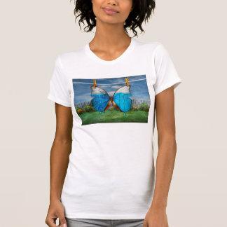 Mariposa - Morpho - la odio cuando el funcionamien Camisetas