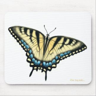 Mariposa Mousepad de Swallowtail del tigre Alfombrilla De Ratón