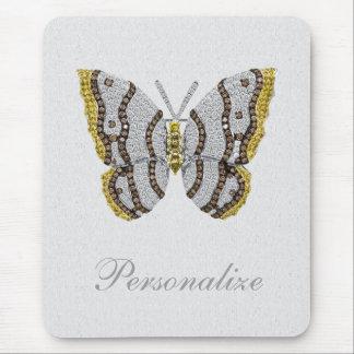 Mariposa Mousepad personalizado impresión del