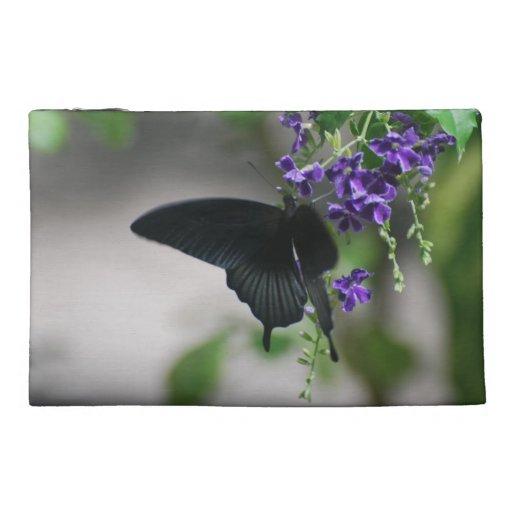 Mariposa negra bonita de Swallowtail