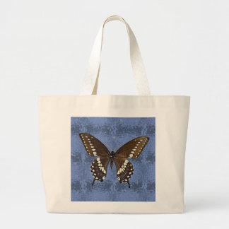 Mariposa negra de Oklahoma Swallowtail Bolsa De Mano
