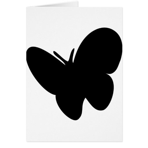 mariposa negra - mariposas felicitacion