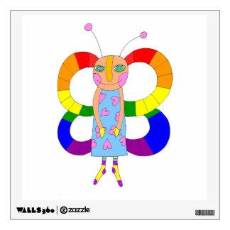 Mariposa o hada de LGBT