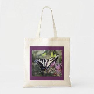 Mariposa occidental de Swallowtail del tigre Bolsas De Mano