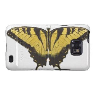 Mariposa occidental de Swallowtail del tigre Samsung Galaxy S2 Funda