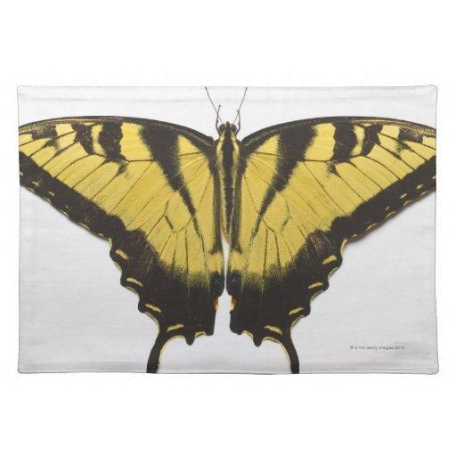 Mariposa occidental de Swallowtail del tigre Manteles Individuales