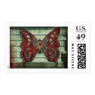 Mariposa oxidada franqueo