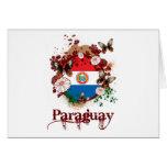 Mariposa Paraguay Tarjeta