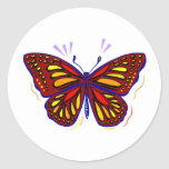 Mariposa - pegatina
