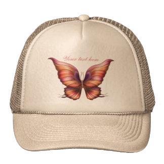 Mariposa personalizada gorro