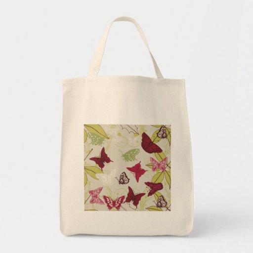 Mariposa - plantilla del personalizar bolsas de mano
