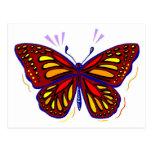 Mariposa - postal