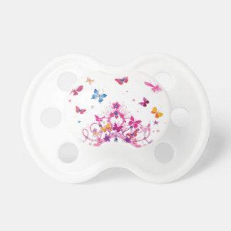 Mariposa preciosa del infinito chupete de bebe