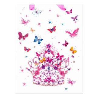 Mariposa preciosa del infinito postales