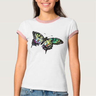 Mariposa psicodélica playera