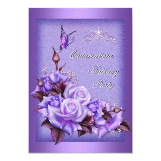 Mariposa púrpura 2a floral de los rosas de