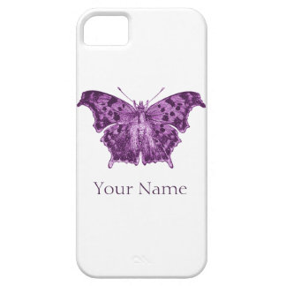 Mariposa púrpura, curiosidades funda para iPhone 5 barely there