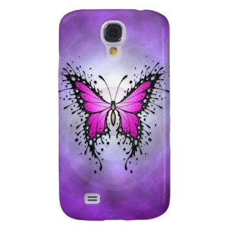 Mariposa púrpura de Spler Funda Para Galaxy S4