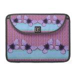 Mariposa púrpura fundas para macbook pro