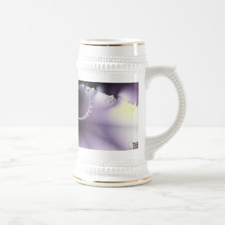 Mariposa púrpura tazas