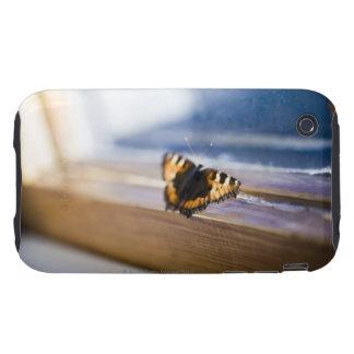Mariposa que intenta salir, Suecia Tough iPhone 3 Fundas