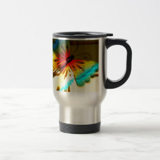 Mariposa que silba por arte taza
