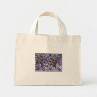 Mariposa que soña el bolso bolsa tela pequeña