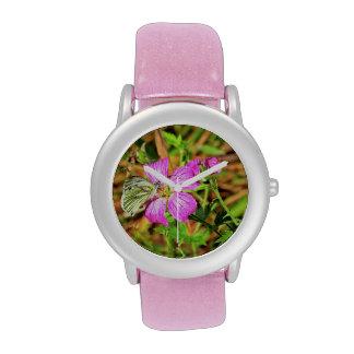 Mariposa Reloj
