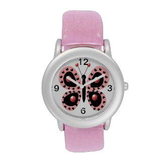 mariposa relojes de pulsera