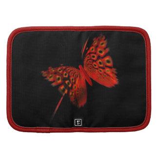 Mariposa roja organizadores