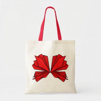 Mariposa roja I Bolsa Tela Barata