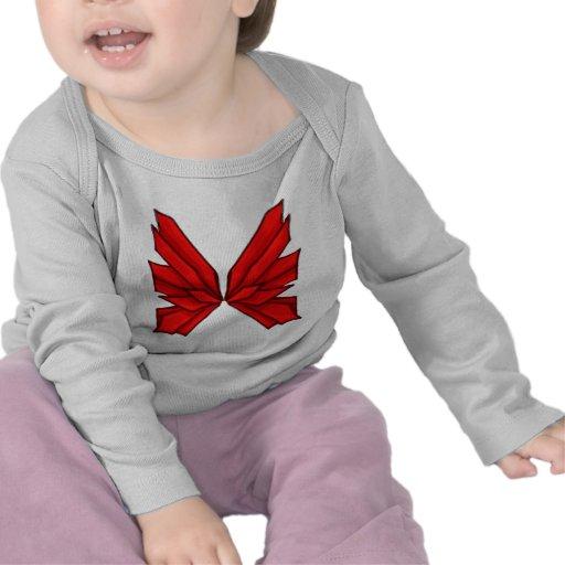 Mariposa roja III Camisetas