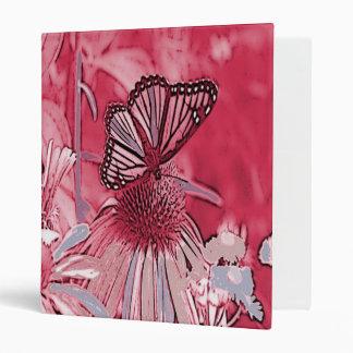"""Mariposa rosada en la flor de Digitaces Carpeta 1"""""""