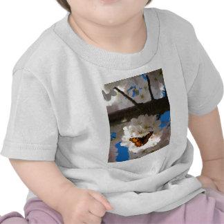 Mariposa Sakura Camiseta