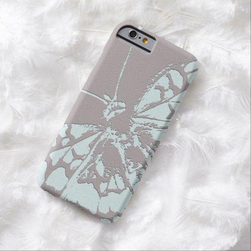 Mariposa serena funda para iPhone 6 barely there