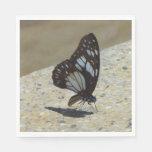 mariposa servilleta de papel