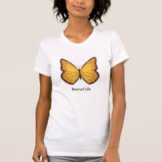 Mariposa, símbolo de la vida eterna poleras