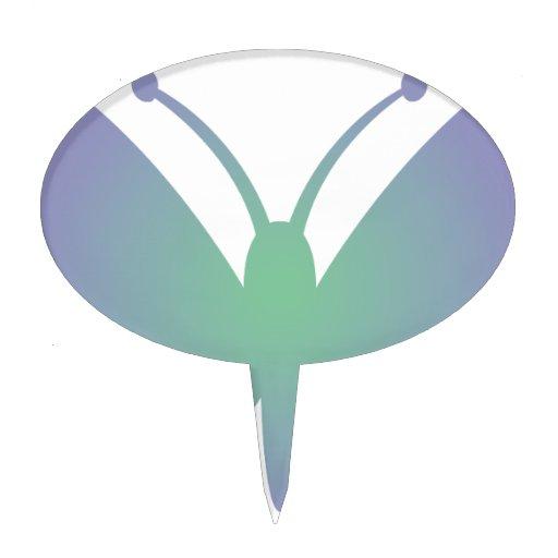 Mariposa simple figuras para tartas