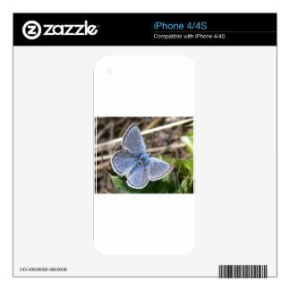 Mariposa Skins Para iPhone 4S
