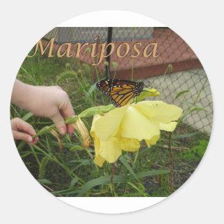 Mariposa small stickers