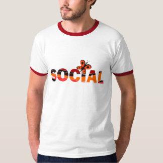 Mariposa social playera