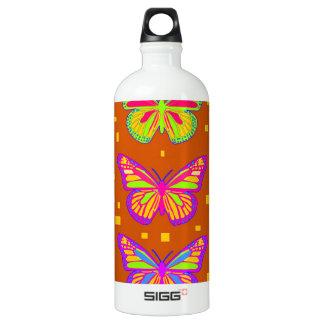 Mariposa Southwest Orage by Sharles Water Bottle