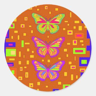 Mariposa Southwest Orage Gifts by Sharles Classic Round Sticker
