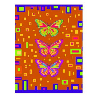 Mariposa Southwest Orage Gifts by Sharles Postcard
