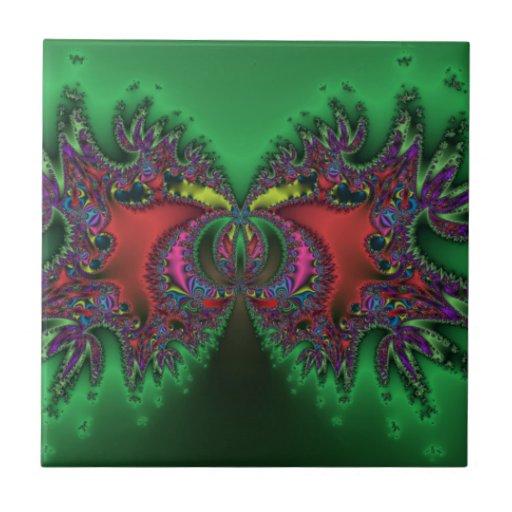 Mariposa surrealista azulejos
