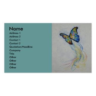 Mariposa Plantillas De Tarjetas Personales